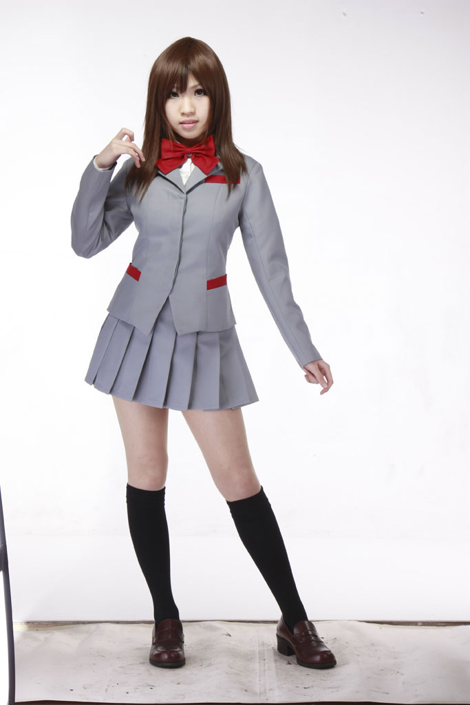 Bleach Karakura High School Girl's Winter School Uniform Cosplay Costumes