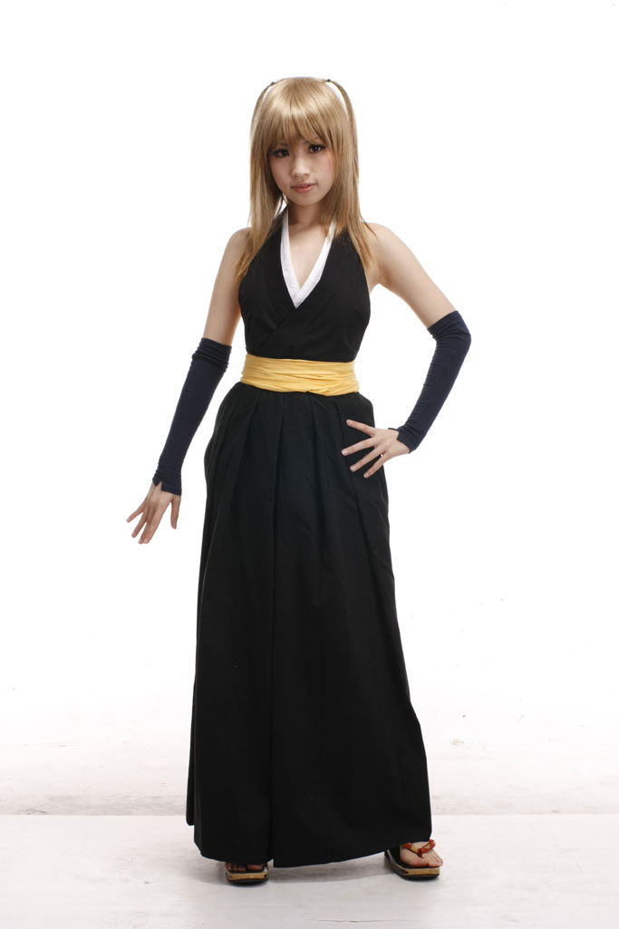 Bleach Soi Fon The Secret Remote Squad Kimono Uniform Cosplay Costumes