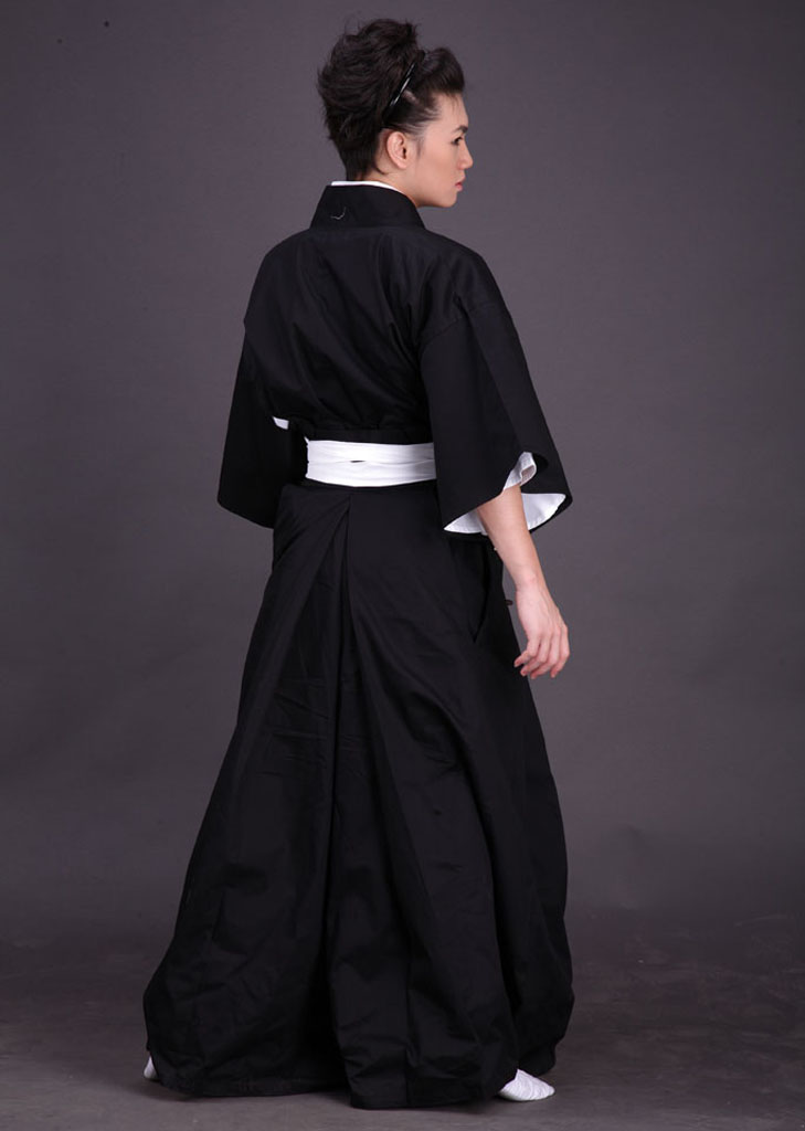 Bleach Soul Reaper Kimono Uniform Cosplay Costumes