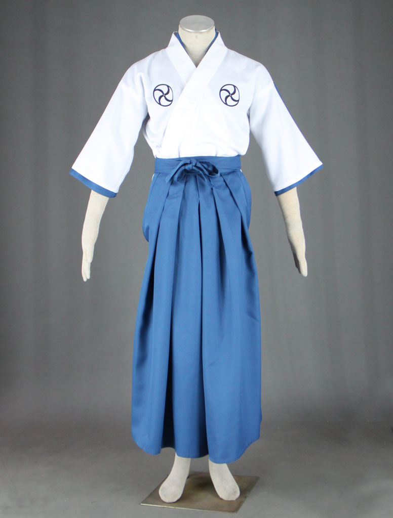Bleach Soul Society Soul Reaper academy Boys Kimono School Uniform Cosplay Costumes