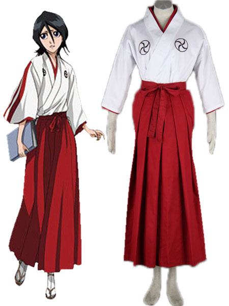 Bleach Soul Society Soul Reaper academy Girl s Kimono School Uniform Cosplay Costumes