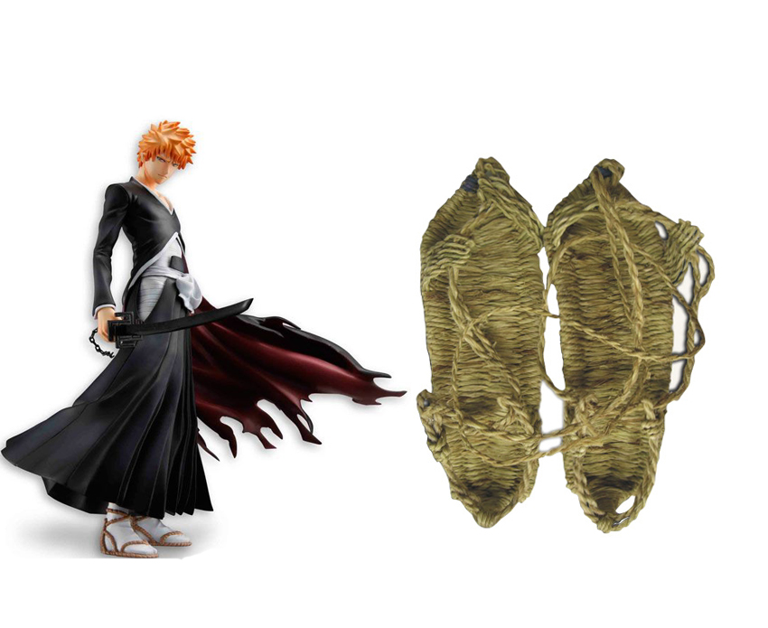 Bleach Straw Sandals Cosplay Accessories