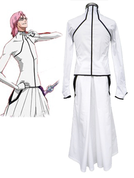 Bleach The Octava Espada No 8 Szayelaporro Grantz Kimono Uniform Cosplay Costumes