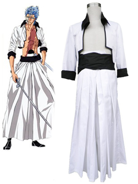 Bleach The Sexta Espada No 6 Grimmjow Jaegerjaquez Kimono Uniform Cosplay Costumes