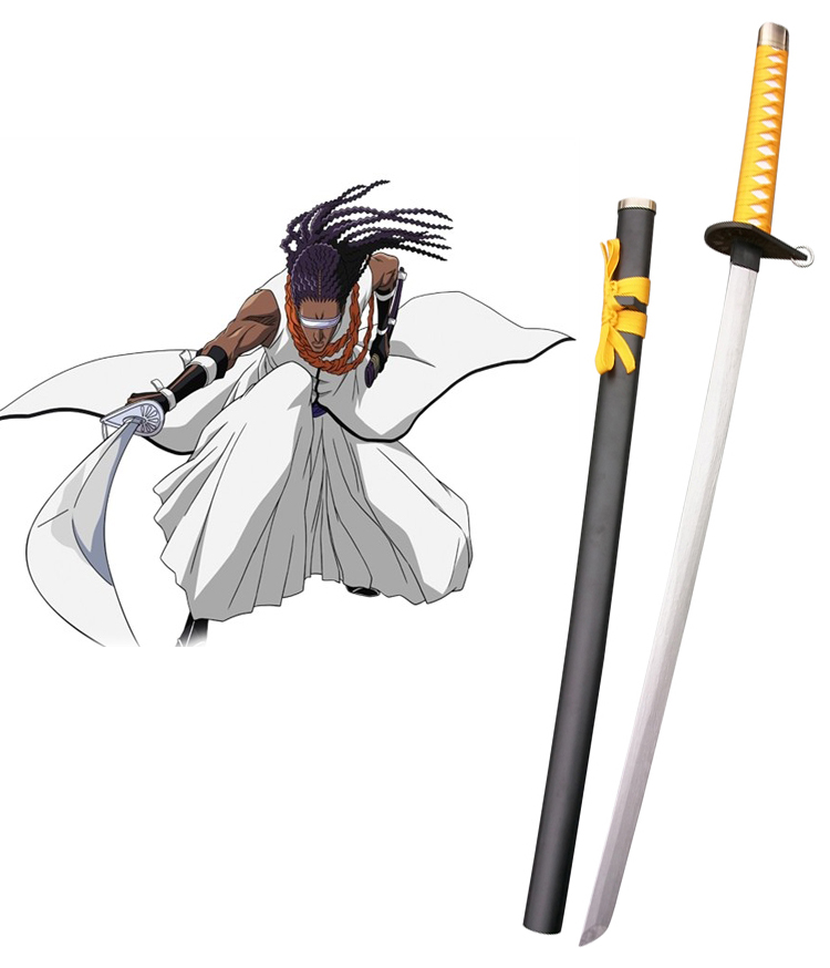 Bleach Tousen Kaname Zanpakutou Suzumushi Cosplay Wooden Weapons