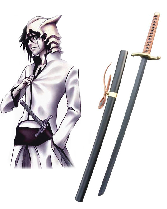 Bleach Ulquiorra cifer Zanpakutou Murciélago Cosplay Wooden Weapons