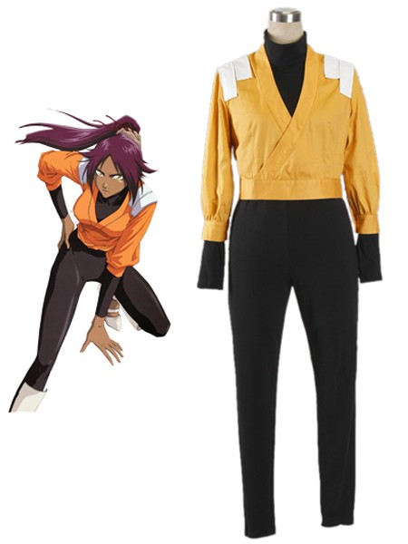 Bleach Yoruichi Shihoin The Secret Remote Squad Uniform Cosplay Costumes