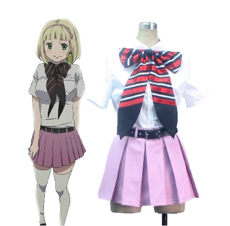 Blue Exorcist Shiemi Moriyama True Cross Academy Girls'Uniform Cosplay Costume