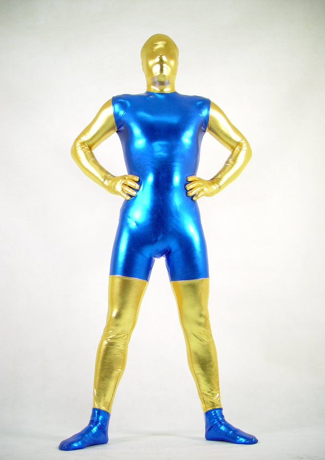 Blue Gold Halloween Costume Ideas Zentai