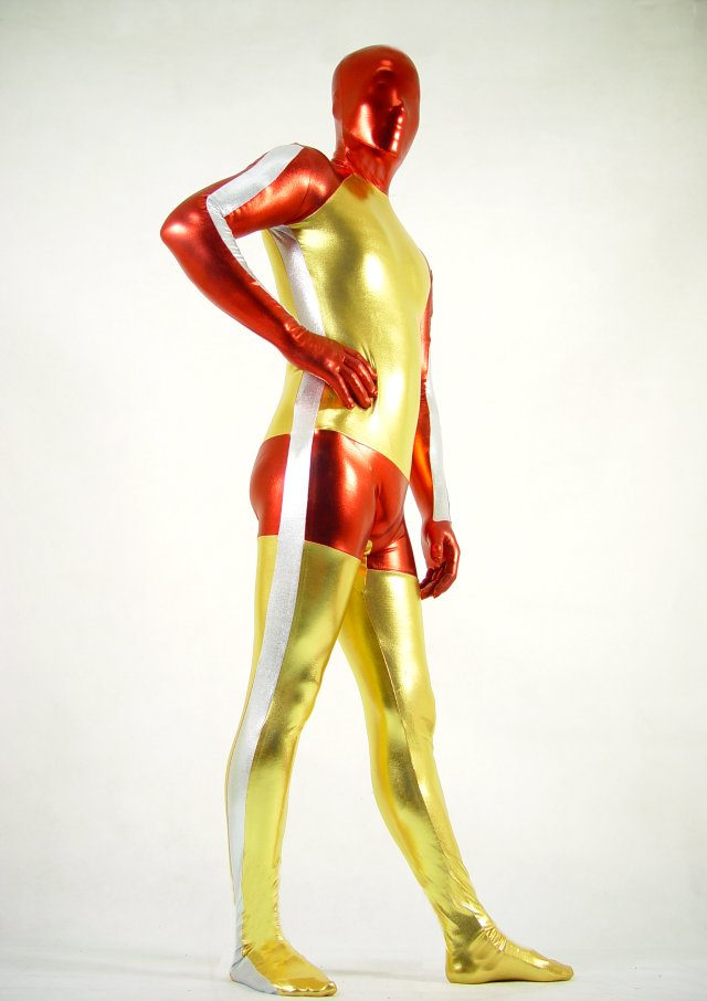 Bruce Lee Shiny Halloween Costume Ideas Zentai