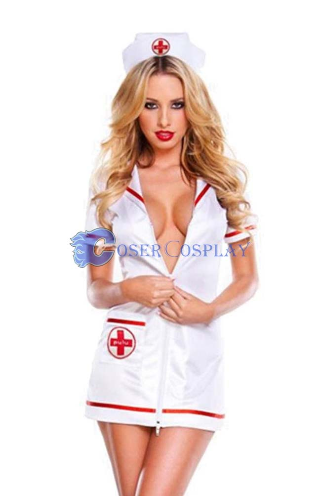 Nurse Cosplay Costume Sexy Lingerie