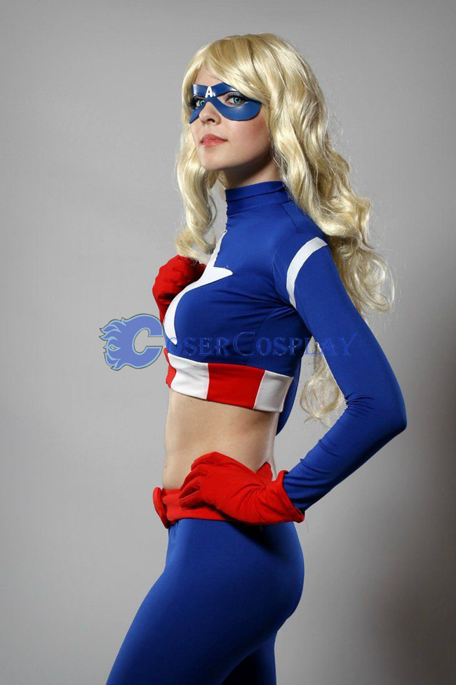 Captain America Cosplay Costume Fashion Catsuit