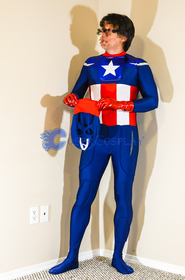Captain America Halloween Costumes For Men | cosercosplay.com