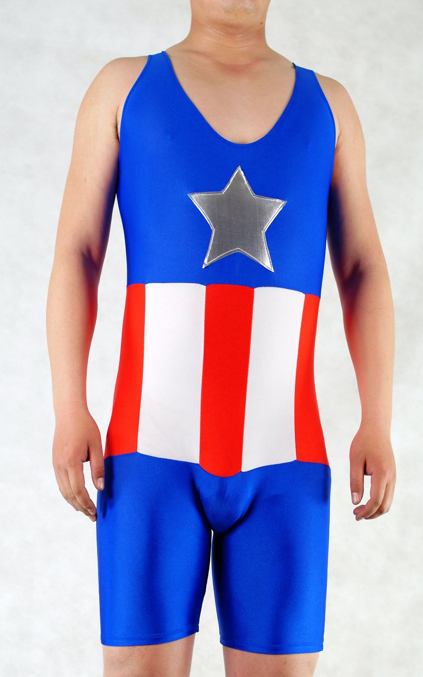 Captain America Halloween Leotard