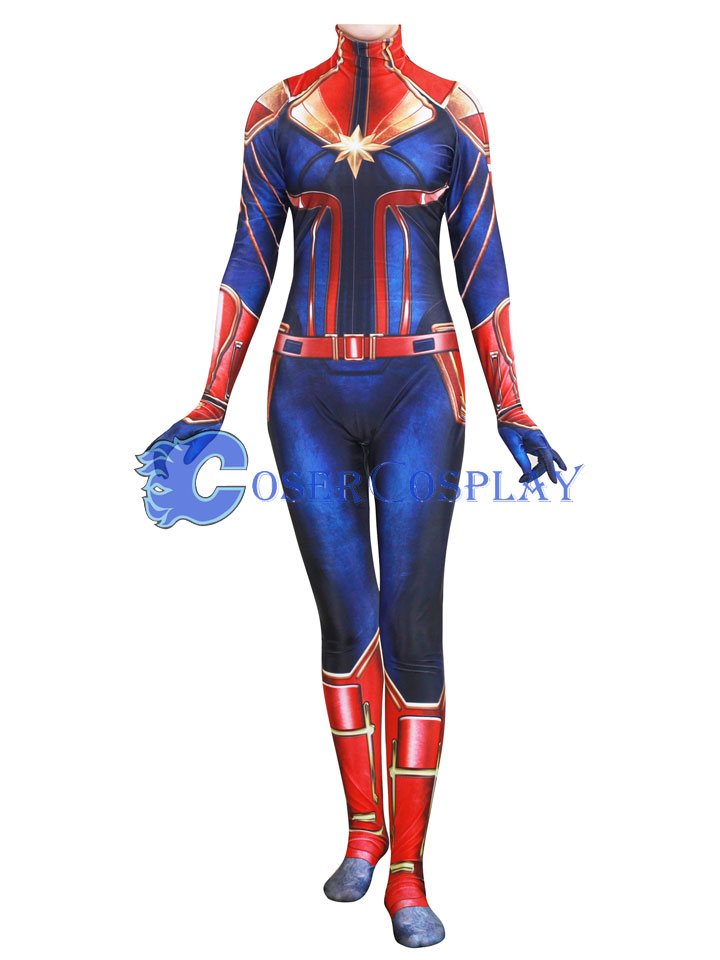 Captain Marvel Carol Danvers Ms Halloween Costume Ideas