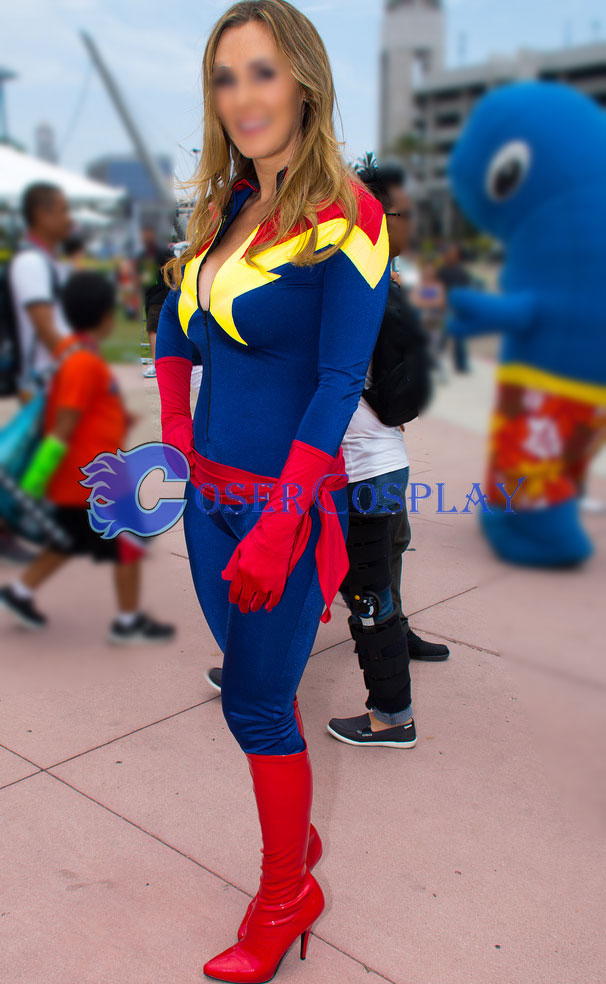 Captain Marvel Carol Danvers Sexy Cat Suit Cosercosplay Com Happy july 4th to all of mighty marveldom! cosercosplay com