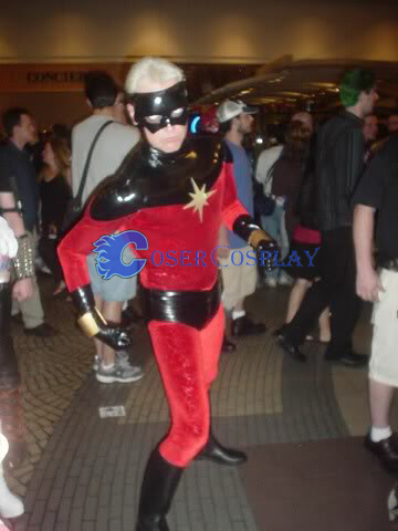 Captain Marvel Mar Vell Superhero Costume
