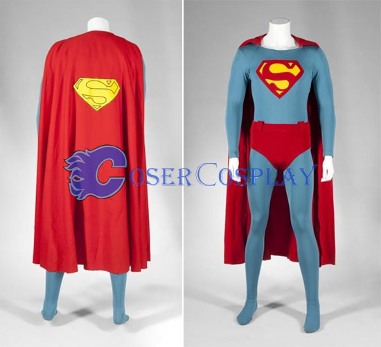 Catsuit Superman Halloween Costume Superhero Capes