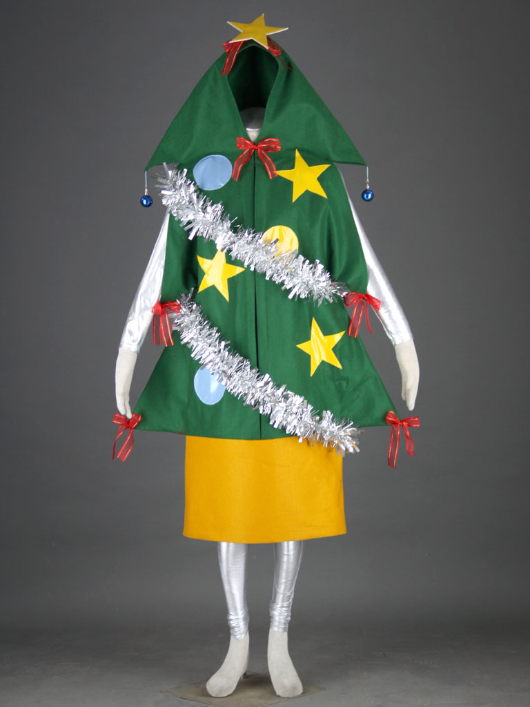 Christmas Christmas tree Uniform Cosplay Costume