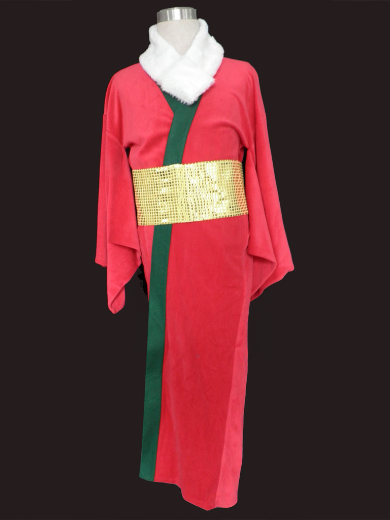 Christmas Kimono Uniform Cosplay Costume
