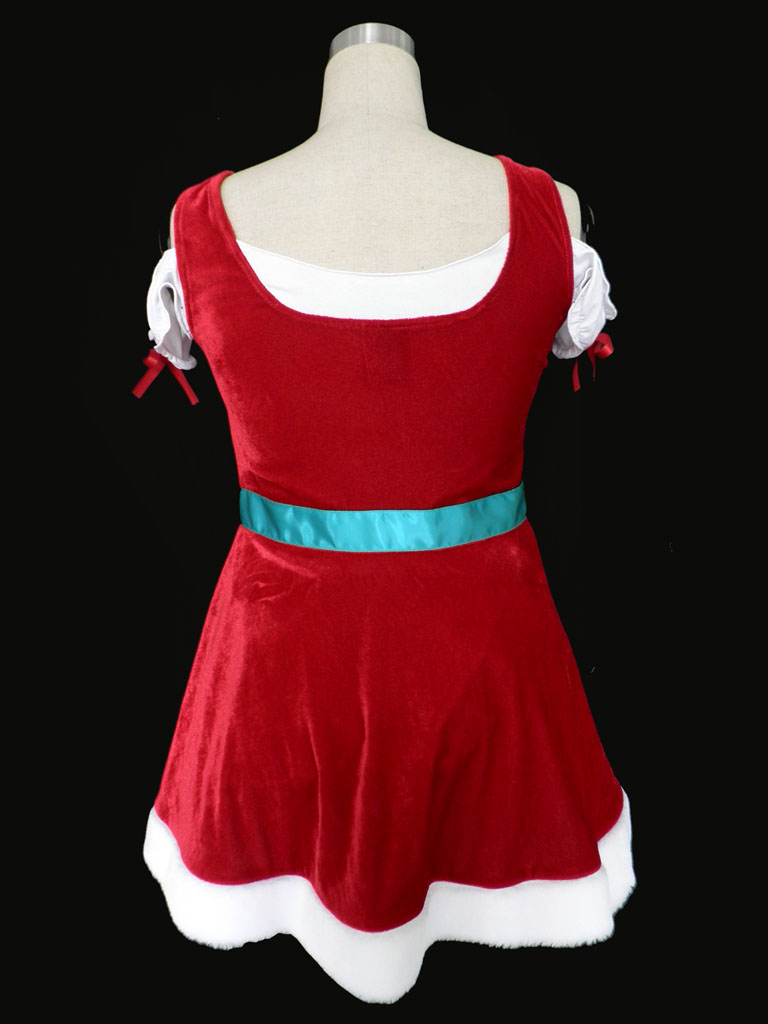 Christmas Show Girls Uniform Cosplay Costume