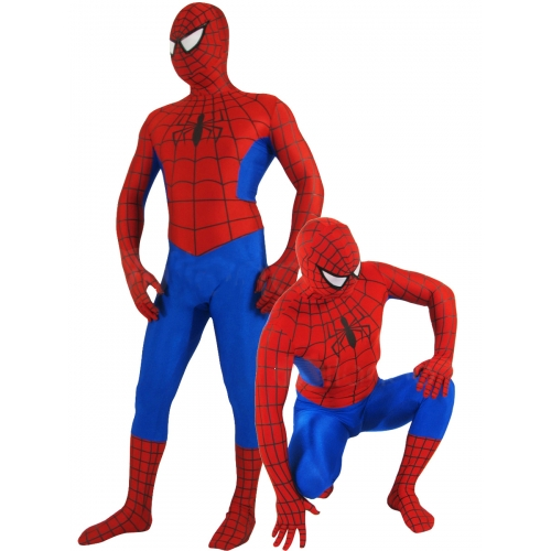 Classic Red Spiderman Halloween Costume