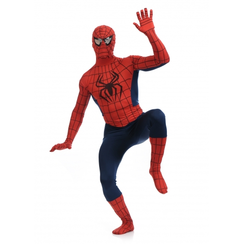 Classic Spiderman Halloween Costume