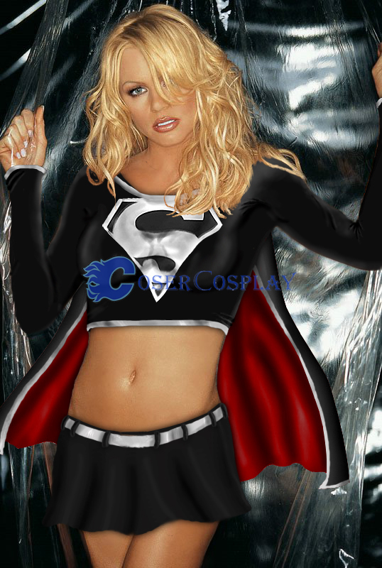 Dark Supergirl Cosplay Costume For Women