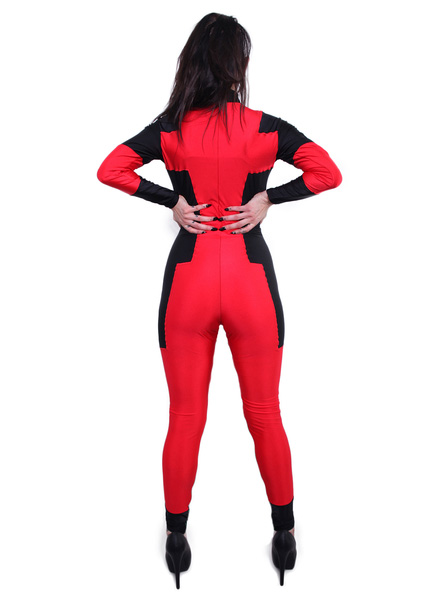 Deadpool Cosplay Costume Catsuit For Halloween 15070234