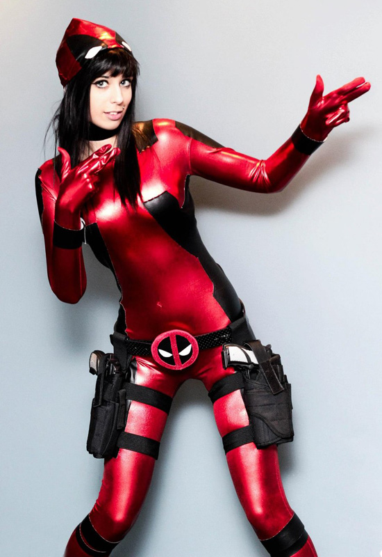 Deadpool Cosplay Costume Fashion Halloween Costumes 15070208