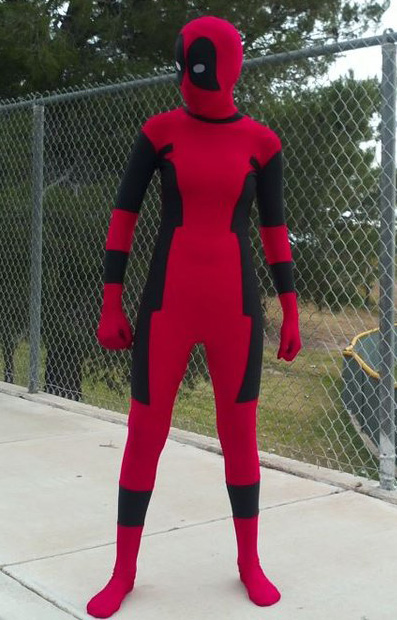 Deadpool Cosplay Costume Full Body Suit 15070241