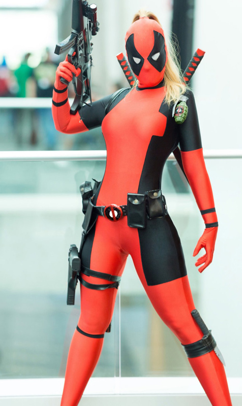 Deadpool Cosplay Costume Full Body Suit Halloween 15070255