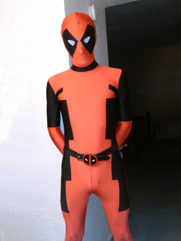 Deadpool Cosplay Costume Full Body Suit Halloween 15070264