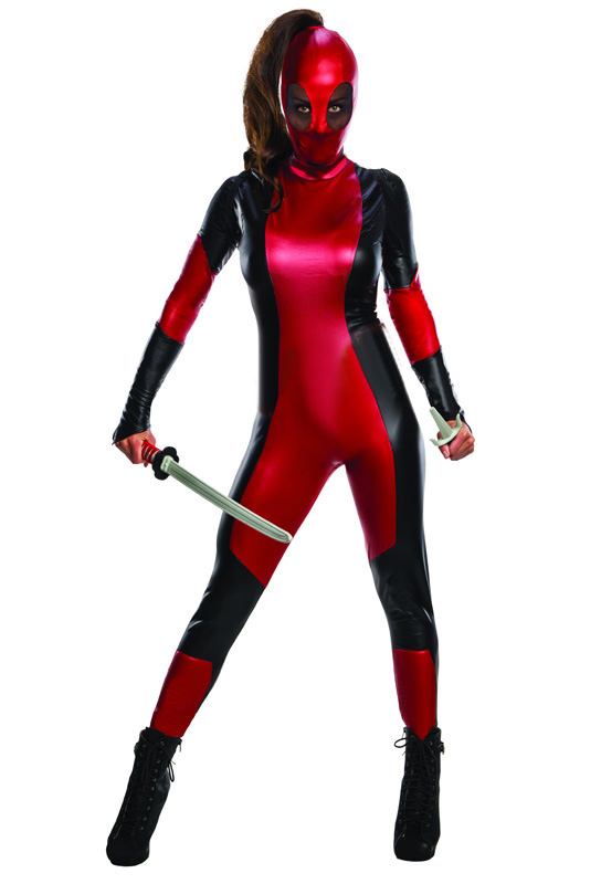 Deadpool Cosplay Costume Full Body Suit Sexy 15070246