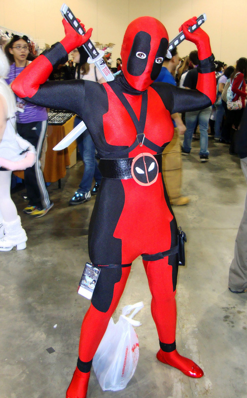 Deadpool Cosplay Costume Full Body Suits Halloween 15070224