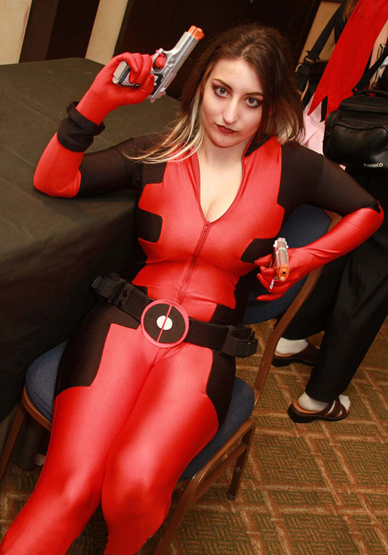 Deadpool Cosplay Costume Halloween Catsuits 15070210