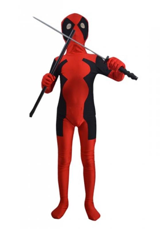 Deadpool Cosplay Costume Kids Halloween Costumes 15070267 ...