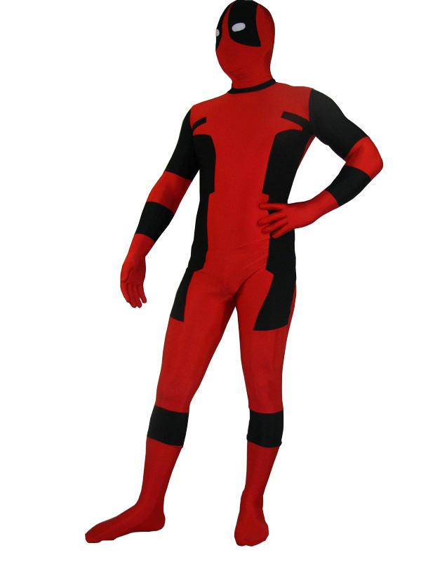 Deadpool Cosplay Costume Zentai 15070273