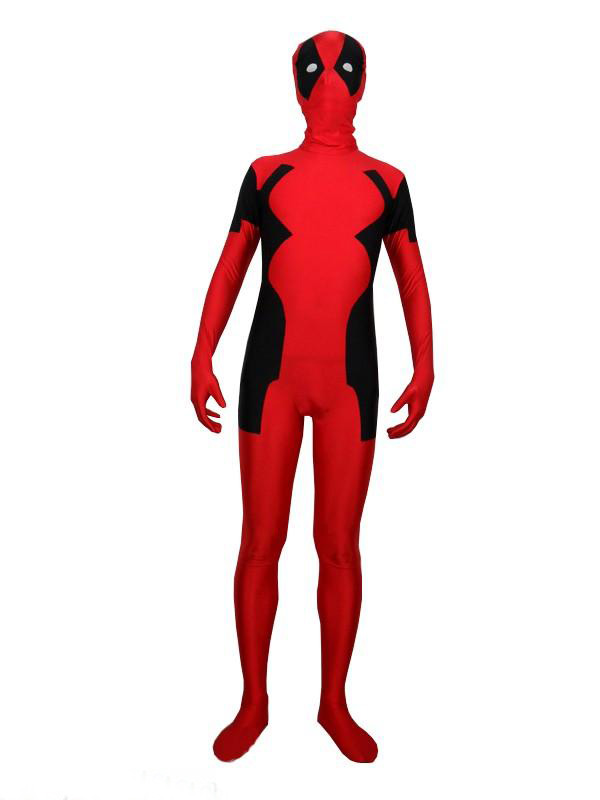 Deadpool Cosplay Costume Zentai Halloween 16030104