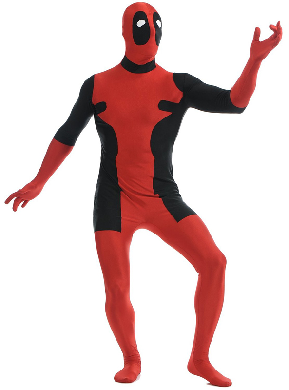 Deadpool Cosplay Costume Zentai Suit 15070221