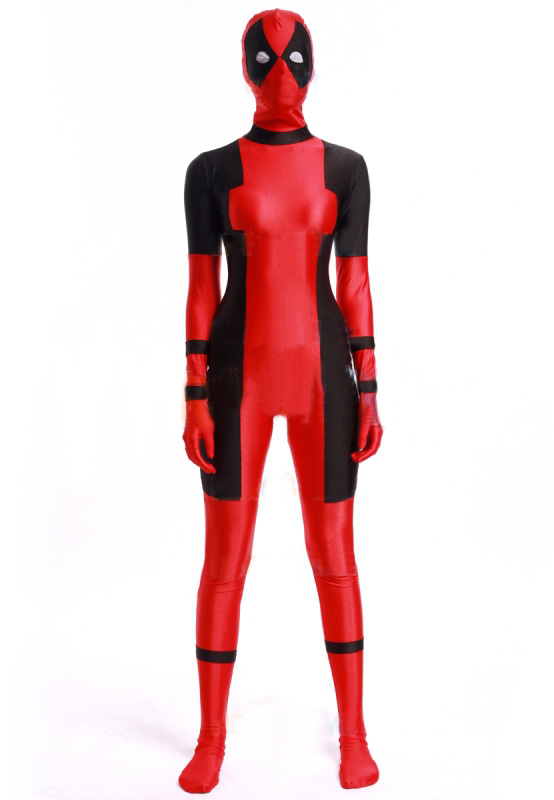 Deadpool Cosplay Costume Zentai Suit 15070245
