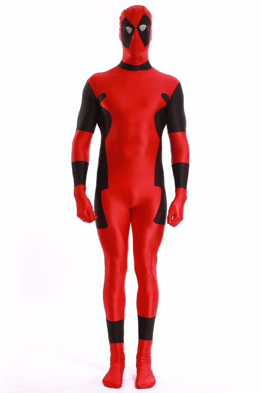 Deadpool Cosplay Costume Zentai Suit 15070250