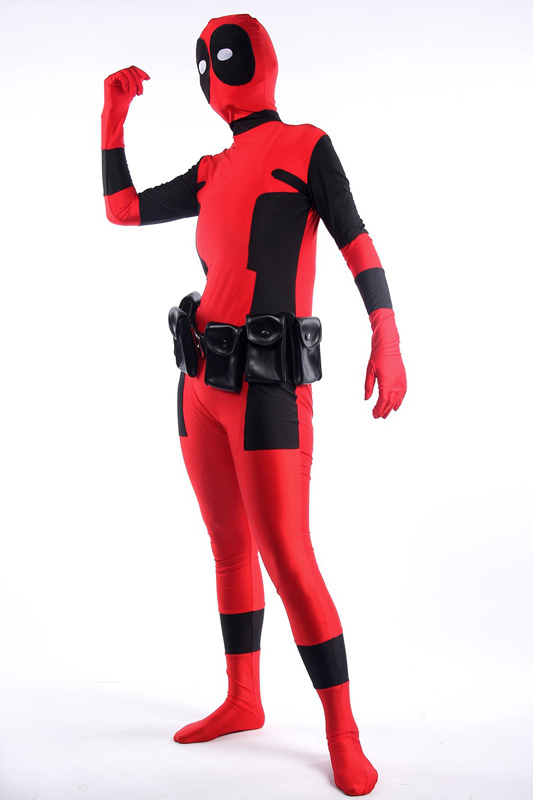 Deadpool Cosplay Costume Zentai Suit 15070253
