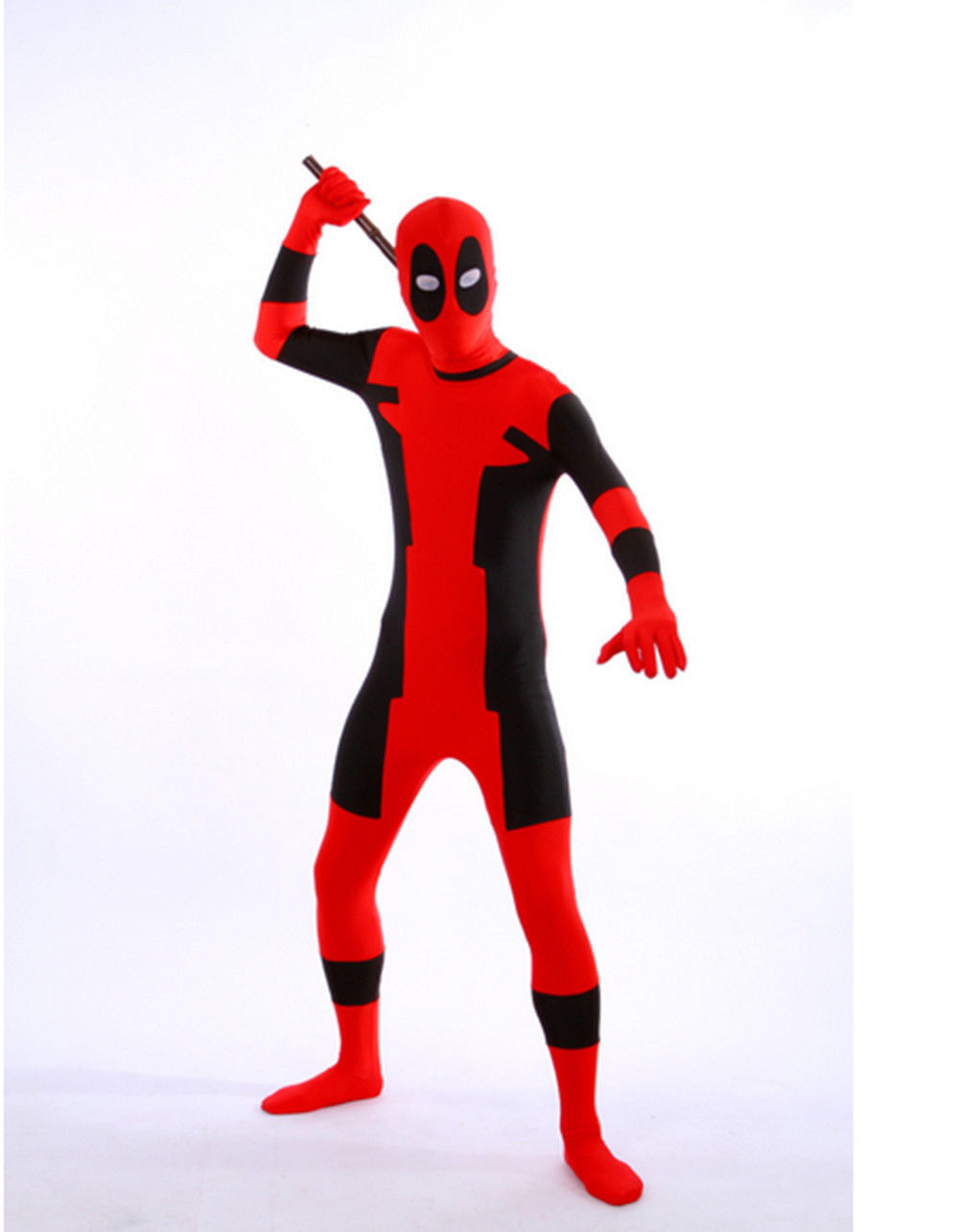 Deadpool Cosplay Costume Zentai Suit Halloween 15070260