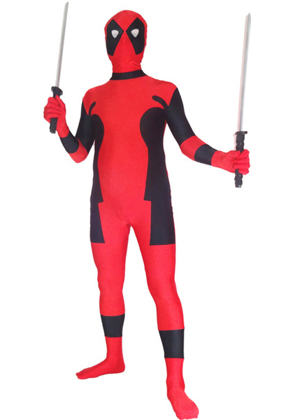 Deadpool Cosplay Costume Zentai Suit Halloween 15070261
