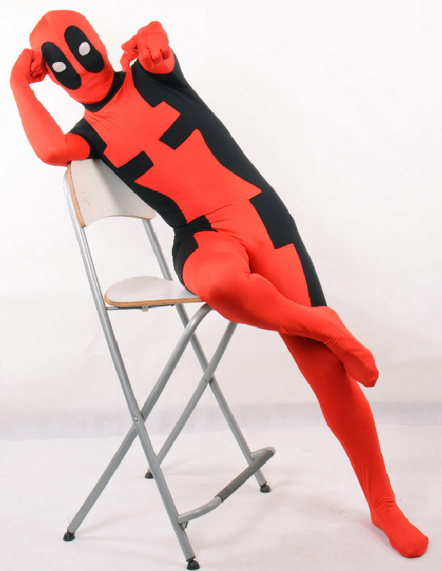 Deadpool Cosplay Costume Zentai Suit Halloween 15070262