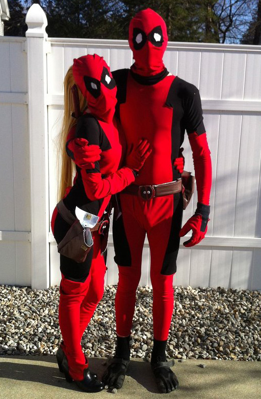 Deadpool Cosplay Costume Zentai Suit Halloween Male 15070258
