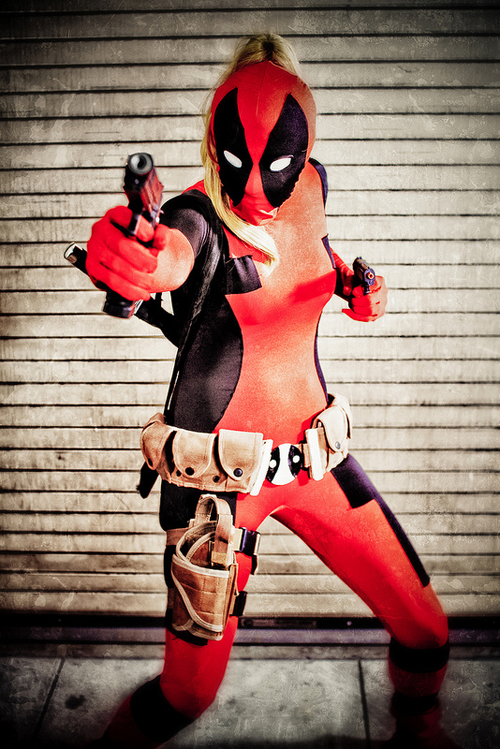 Deadpool Cosplay Costumes Full Body Suit 15070225