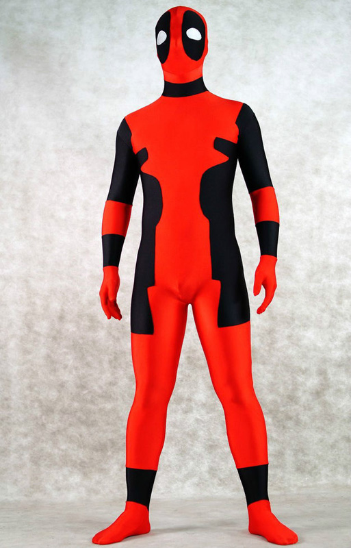 Deadpool Cosplay Costumes Skin Suit Zentai 15070226