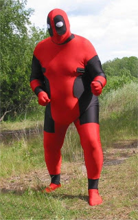 Deadpool Plus Size Costume For Halloween 15070217